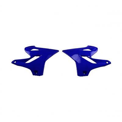 Ouïes de radiateur UFO Yamaha 125 YZ 15-17 bleu reflex