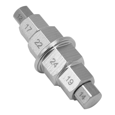 Outil 1Tek Tools démontage d'axe de roue Ø de 12 à 24mm