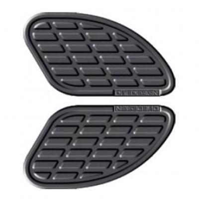 Pad de réservoir Onedesign gris mat 170 x 93,5 mm