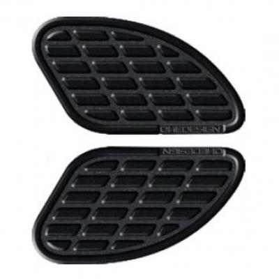 Pad de réservoir Onedesign noir mat 170 x 93,5 mm