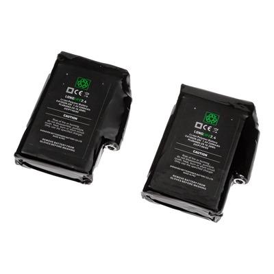 Paire de batteries Racer Lucielabs 2 2200MAH