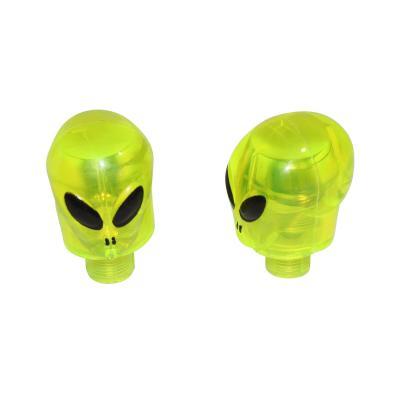 Paire de bouchons de valve Replay alien clignotant