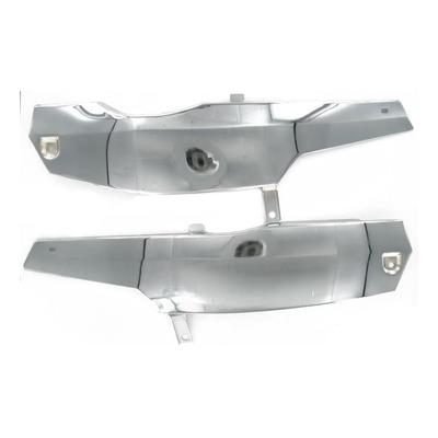 Paire de capotage latéraux acier chromé MBK 51