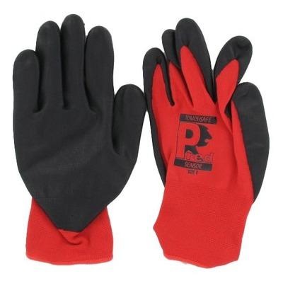 Paire de gants atelier tactile en nylon et élasthanne homologué CE