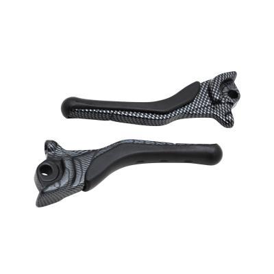 Paire de levier de frein Replay carbone brillant pour Nitro/Aerox