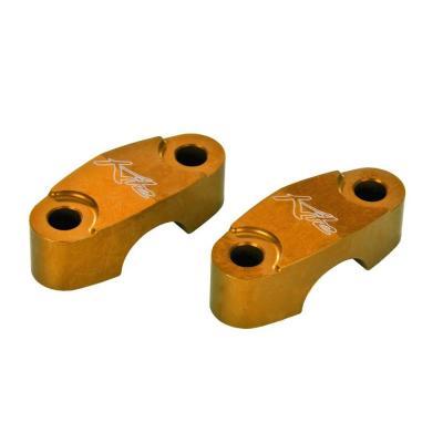 Paire de pontets supérieurs Kite Ø22mm orange