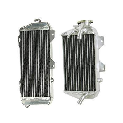 Paire de radiateurs Psychic Kawasaki 450 KX-F 2008 (Gros volume)