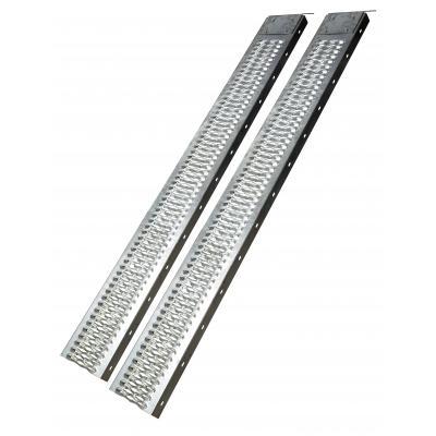 Paire de rampes acier 190 cm 400 kg