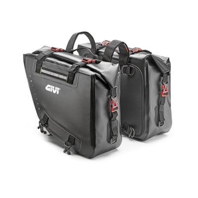 Paire de sacoches latérales Givi Gravel-T GRT718 15+15 litres noir