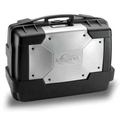 Paire de valises Kappa Garda Monokey KGR33PACK2 33 Litres noir/alu