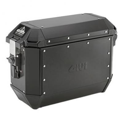 Paire de valises latérales Givi Trekker Alaska Monokey 2x36l aluminium noir