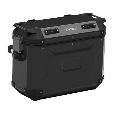 Paire de valises latérales Kappa K'Force 37+37 Litres aluminium noir