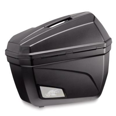 Paire de valises latérales Kappa K22 Monokey 22 Litres noir