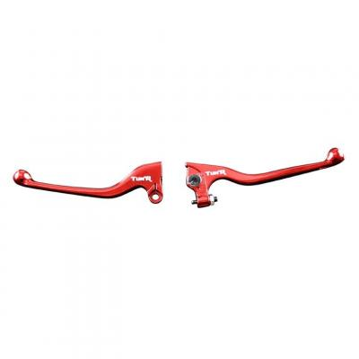 Paire leviers Tun'R Derbi Senda X-race 03-09 rouge