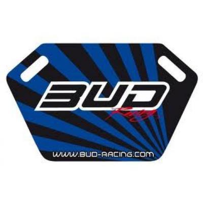 Panneautage Bud Racing noir/bleu