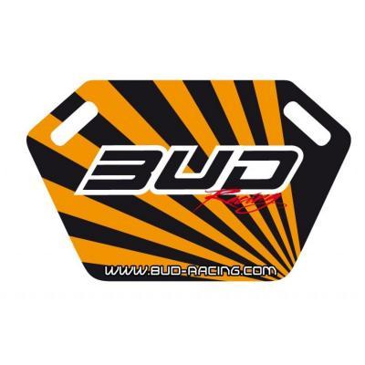 Panneautage Bud Racing noir/orange