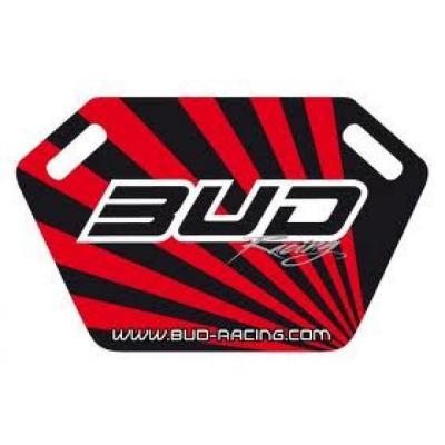 Panneautage Bud Racing noir/rouge