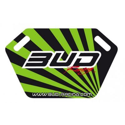 Panneautage Bud Racing noir/vert