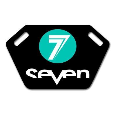 Panneautage Seven noir/bleu
