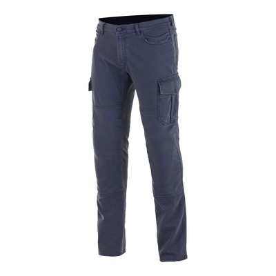 Pantalon cargo Alpinestars Cargo Riding distressed bleu