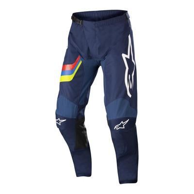 Pantalon cross Alpinestars Racer Braap dark bleu