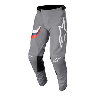 Pantalon cross Alpinestars Racer Braap mid gris