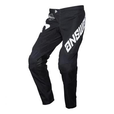 Pantalon cross Answer Arkon Bold noir/blanc
