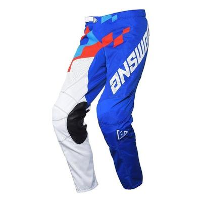 Pantalon cross Answer Arkon Korza Reflex/hyper bleu/rouge