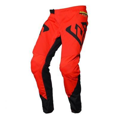 Pantalon cross Answer Syncron Pro Glow rouge/noir/hyper acid