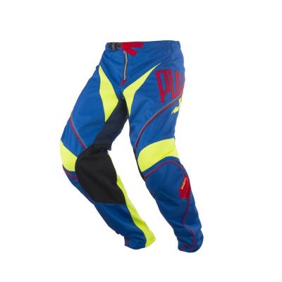Pantalon cross enfant Pull-in Challenger bleu