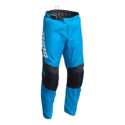 Pantalon cross enfant Thor Sector Chev bleu/midnight