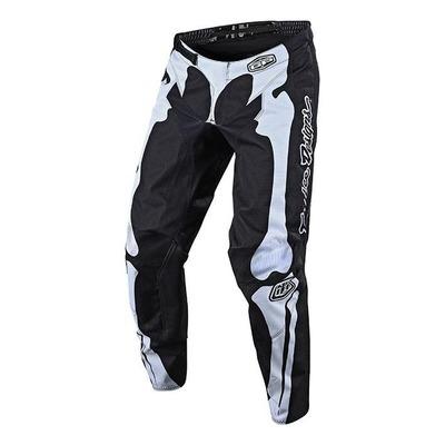 Pantalon cross enfant Troy Lee Designs GP Skully noir/blanc