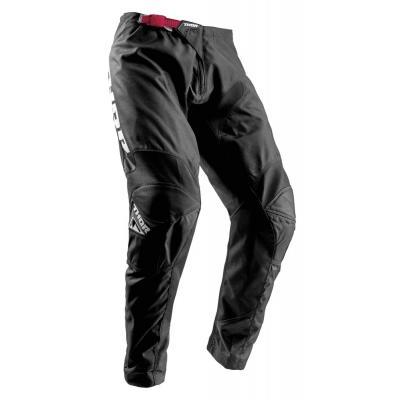 Pantalon cross femme Thor Sector Zones noir/rose