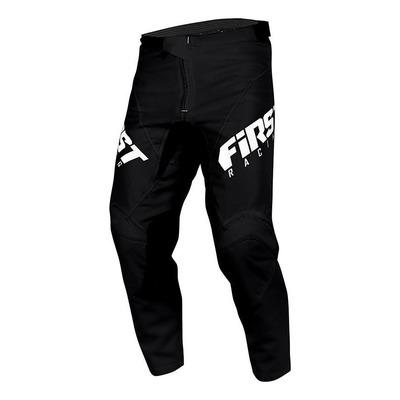 Pantalon cross First Racing Skim noir