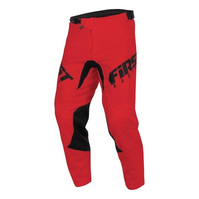 Pantalon cross First Racing Skim rouge