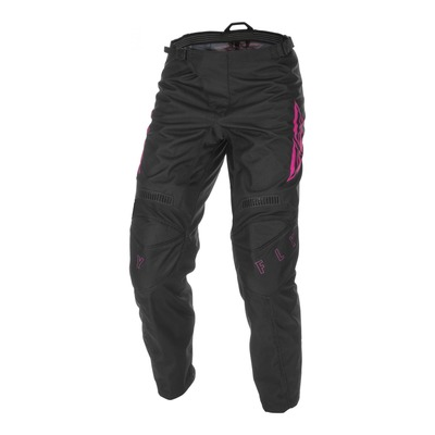 Pantalon cross Fly Racing F-16 noir/rose