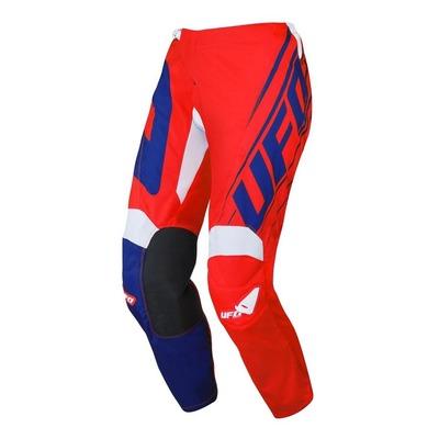 Pantalon cross junior Ufo Vanadium rouge/bleu