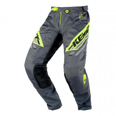 Pantalon cross Kenny Track Victory charcoal/jaune fluo