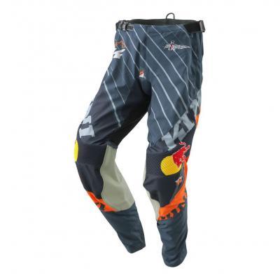 Pantalon cross Kini Red Bull Compétition V2.0 orange/gris