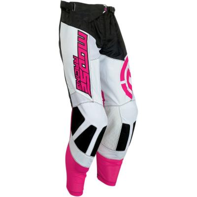Pantalon cross Moose Racing M1 noir/rose