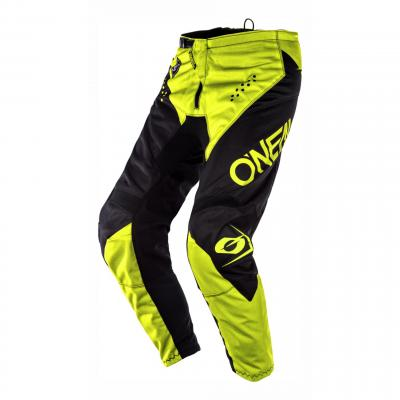 Pantalon cross O'Neal Element Racewear noir/jaune fluo