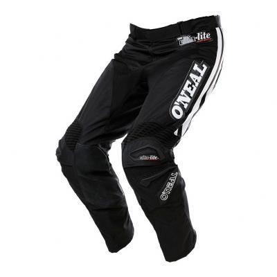 Pantalon cross O'Neal Ultra Lite Le 75 noir/blanc