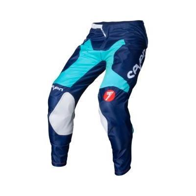 Pantalon cross Seven Annex Borth aqua/navy
