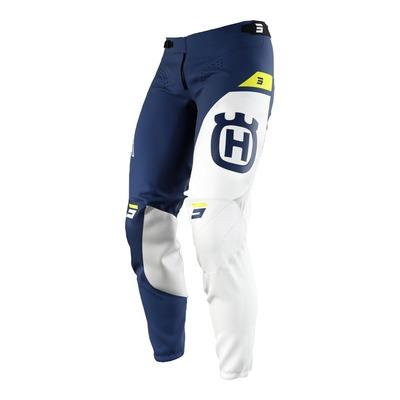 Pantalon cross Shot Aerolite Husqvarna limited edition 2022 bleu/blanc