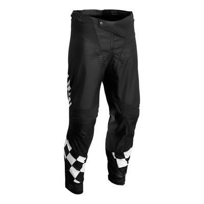 Pantalon cross Thor Differ Cheq Hallman noir/blanc