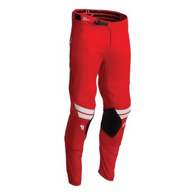 Pantalon cross Thor Prime Hero rouge/blanc