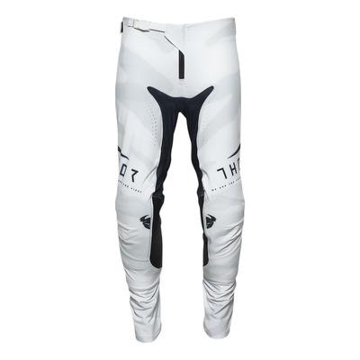 Pantalon cross Thor Prime Pro Cast blanc/bleu midnight