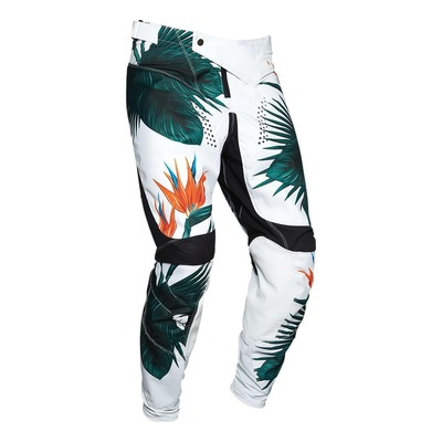 Pantalon cross Thor Prime Pulse Tropix noir/blanc/vert tropic