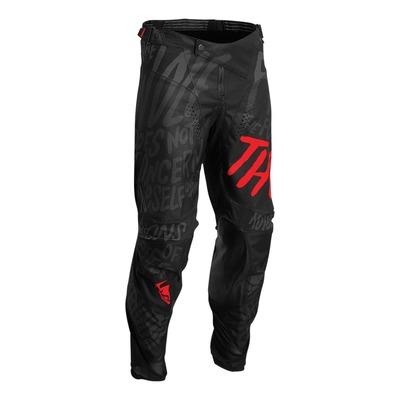 Pantalon cross Thor Pulse Counting Sheep noir/rouge