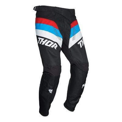 Pantalon cross Thor Pulse Racer noir/rouge/bleu